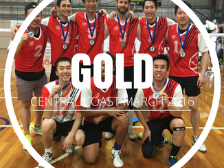 Central Coast State Cup - Gold - March 2016