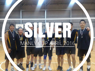 Manly Cup - Silver - April 2016