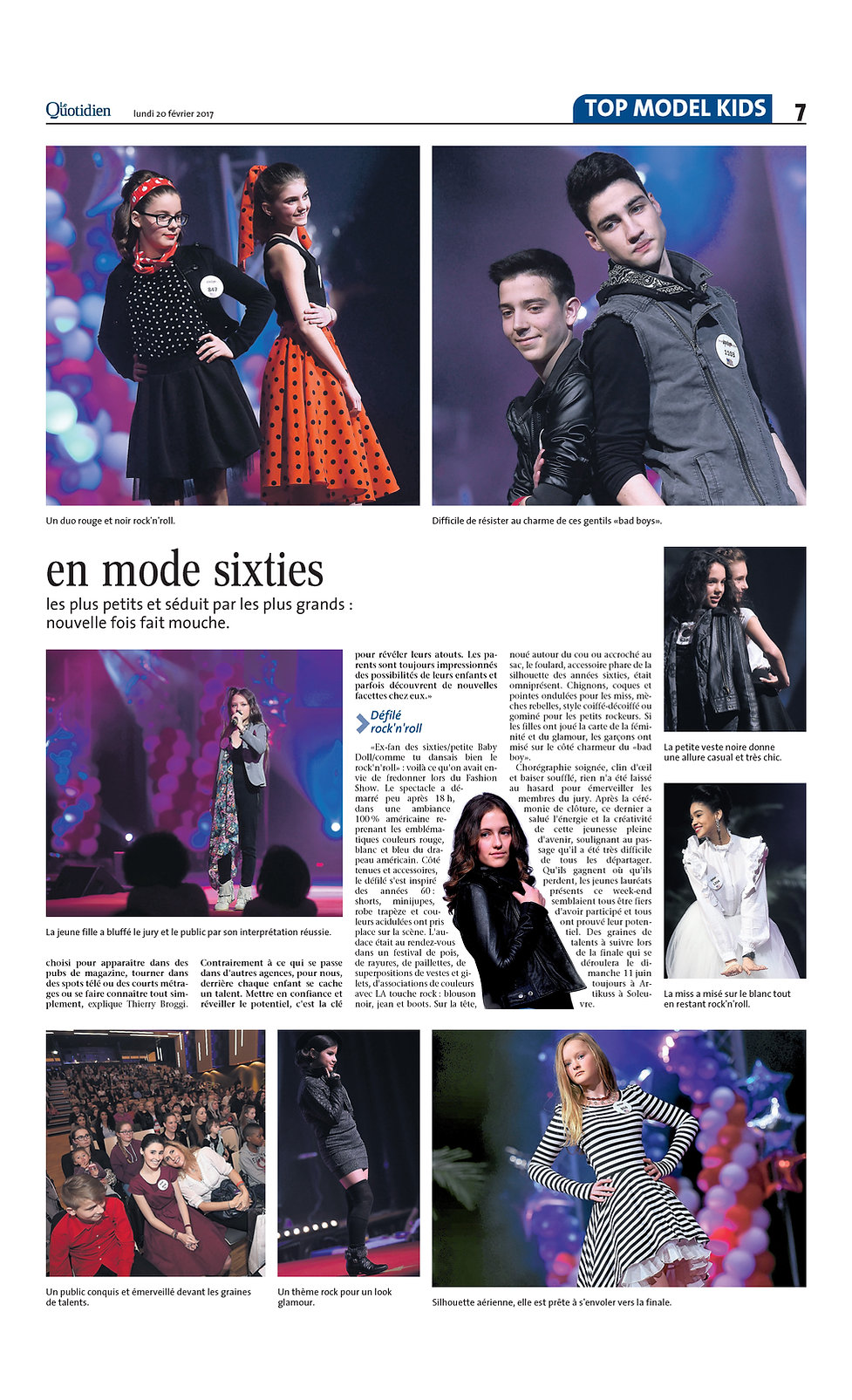 Top Model Kids Luxembourg, le plus grand casting d'enfants et de talents au Luxembourg