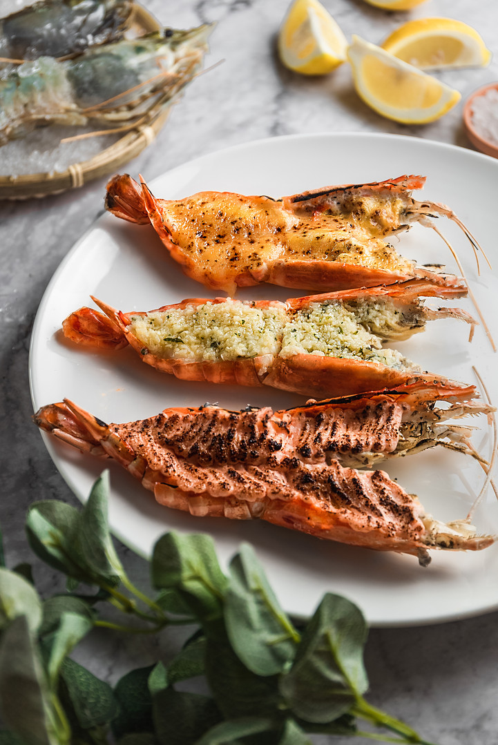 Seafood - Giant River Prawns