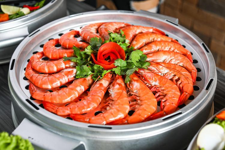 Seafood Tower - King Prawns