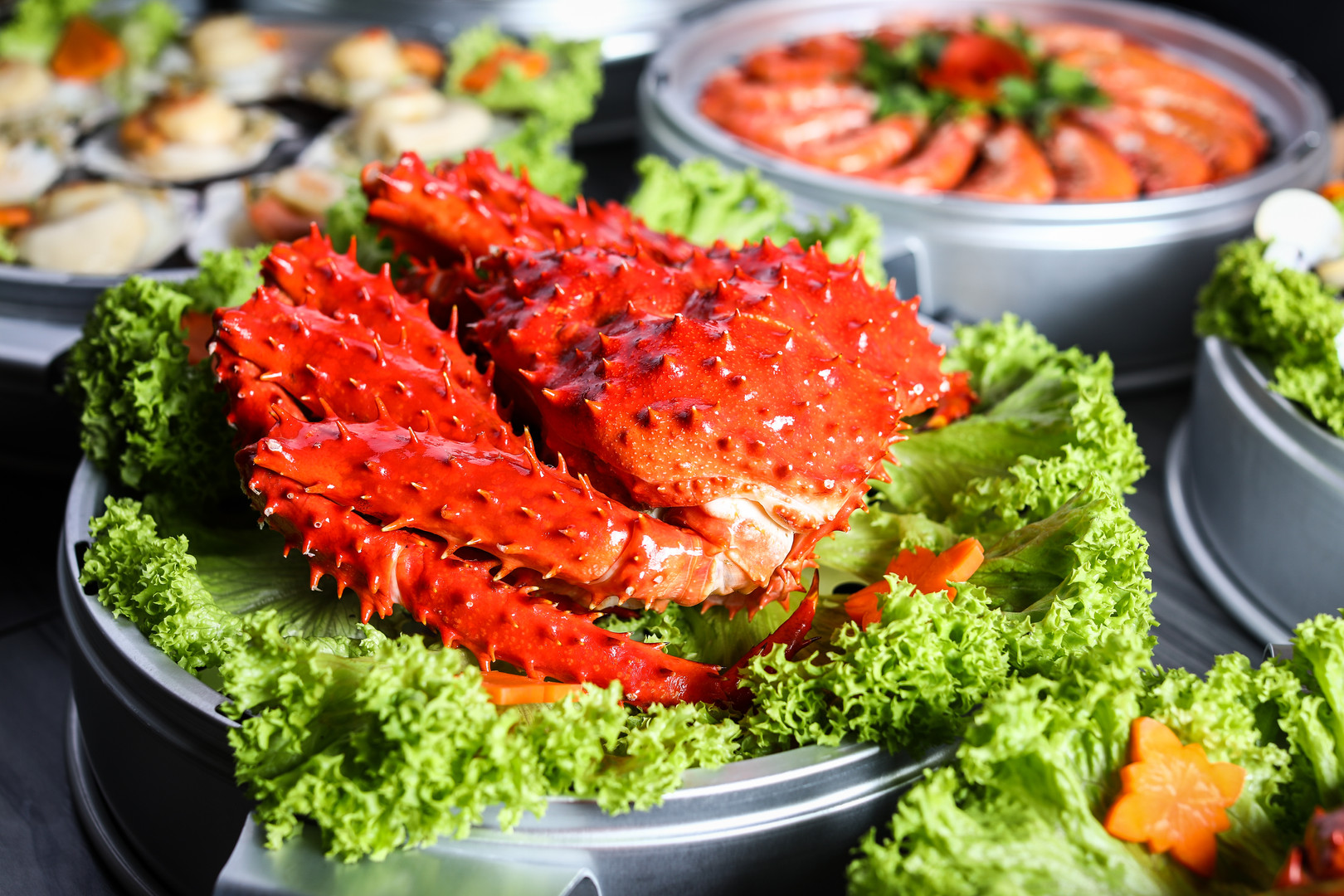 Seafood Tower - Chilean King Crab