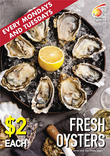 Seafood Oyster Promo Singapore