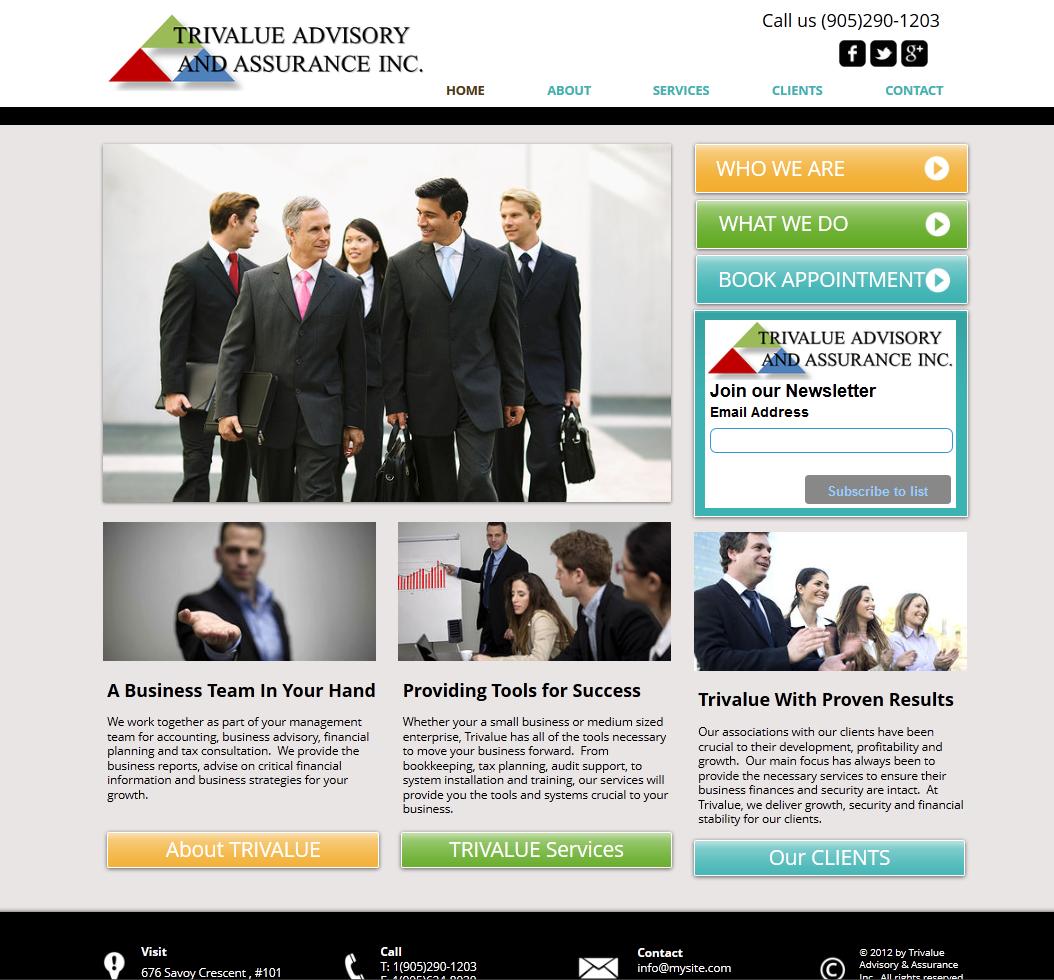 Trivalue Advisory and Assurance Inc.