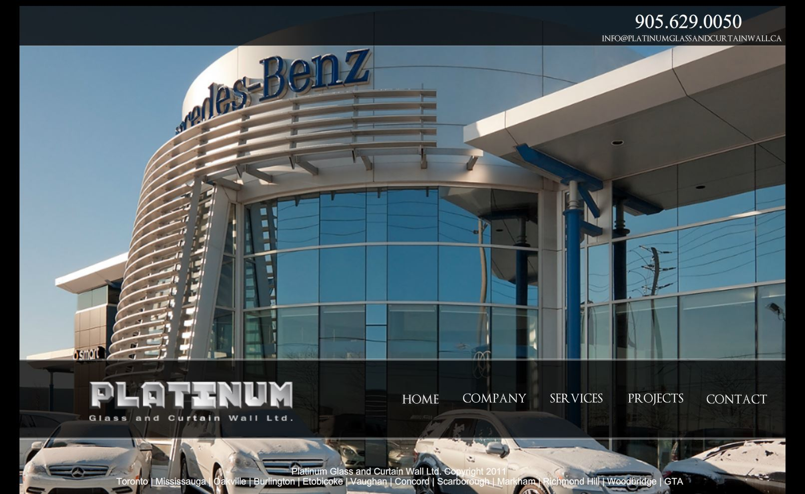 Platinum Glass Curtain Wall Systems