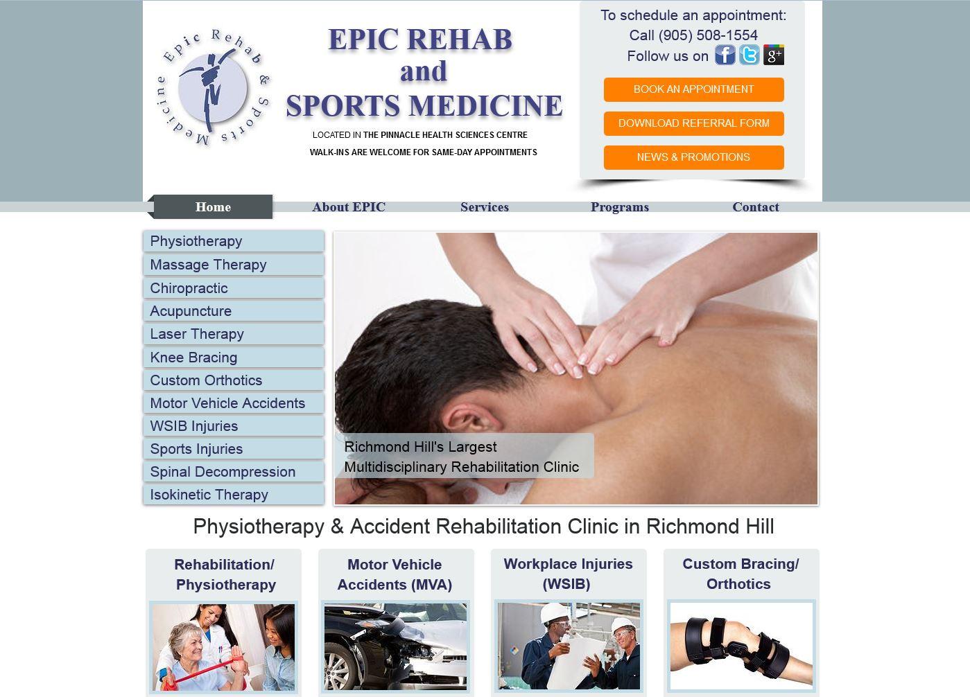 Epic Rehab and Sports Medicine