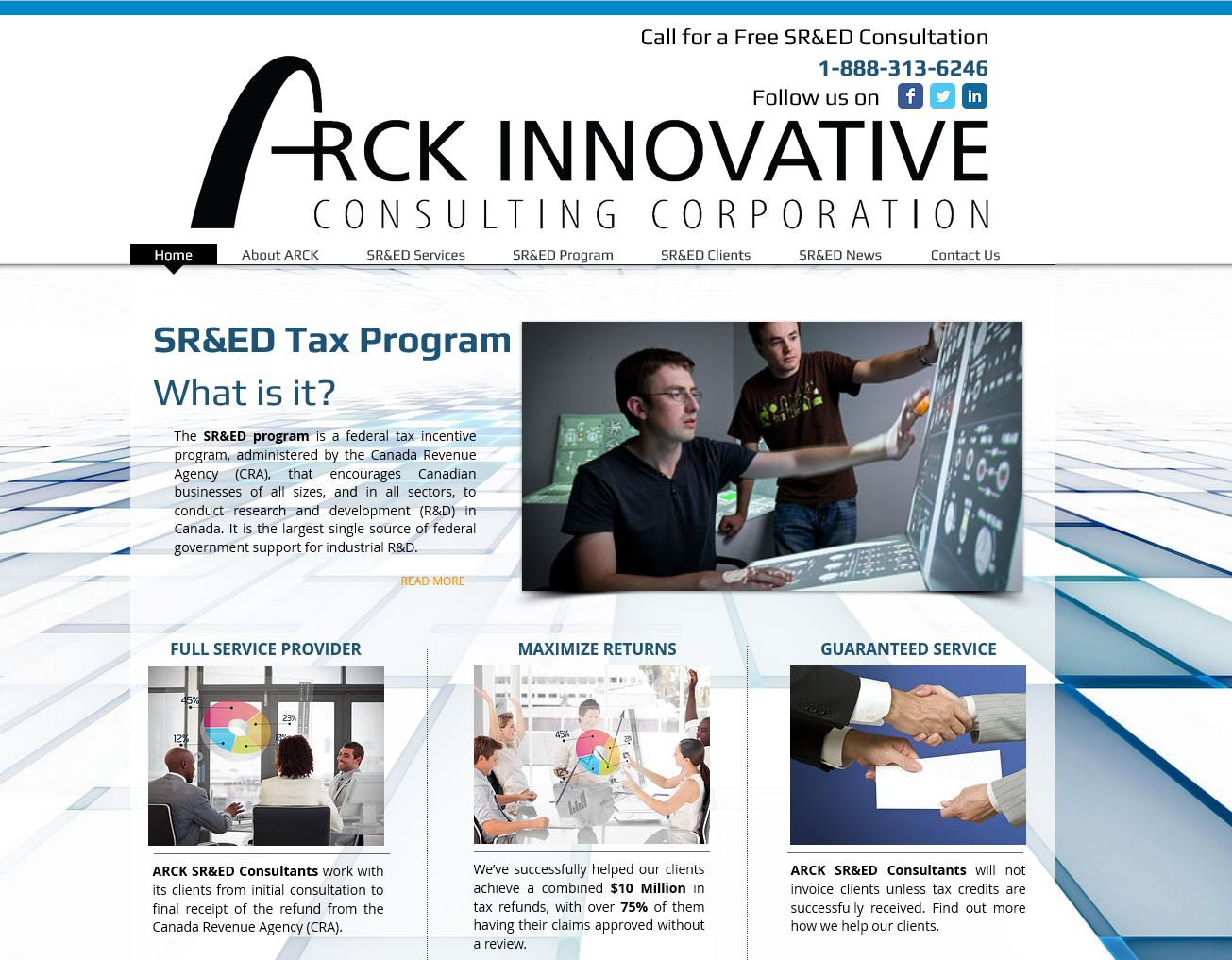 ARCK Innovative Consulting Corp.