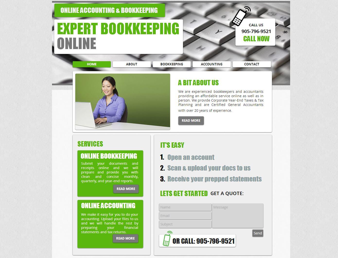 Expert Bookkeeping Online