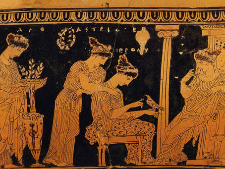 Fashion Stories in Ancient Greece - Your visual diary to My Fashion Stories Box Podcast