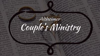 Altheimer Couples Ministry