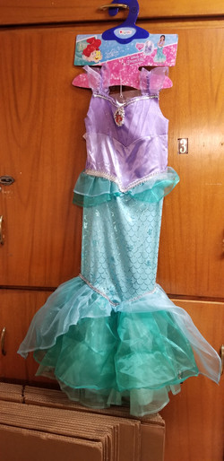 Disney The Little Mermaid Costume
