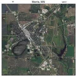 Aerial Map of Morris