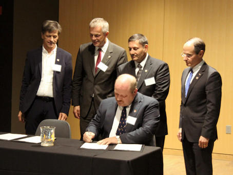 City of Morris Signs Climate Partnership with Saerbeck, Germany