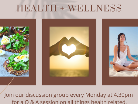 Q&A Everything Health & Wellbeing
