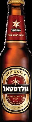 """בירה גולדסטאר בקבוק 330 מ""""ל"""