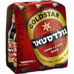 """שישיית בירה גולדסטאר 330 מ""""ל"""