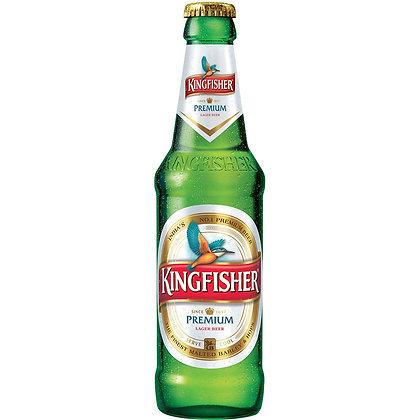 """בקבוק בירה קינגפישר 330 מ""""ל"""