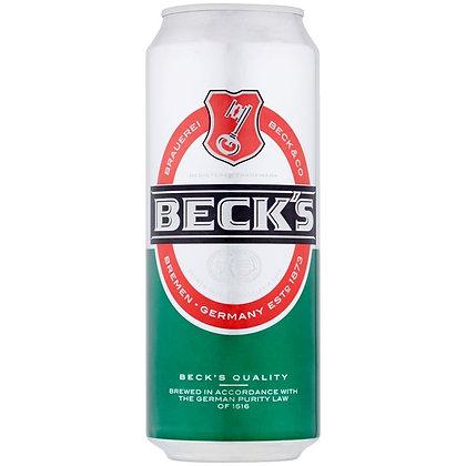 """פחית בירה בקס 500 מ""""ל"""