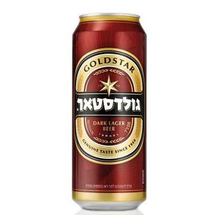 """בירה גולדסטאר 500 מ""""ל פחית"""