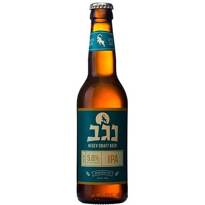 """בקבוק בירה נגב אי פי איי 330 מ""""ל"""