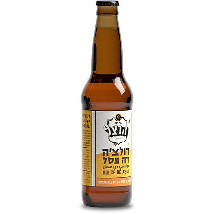 """בקבוק הרצל דולצ'ה דה עסל 330 מ""""ל"""