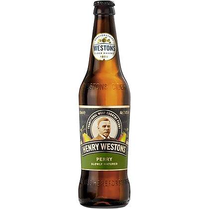 """בקבוק הנרי ווסטונ Perr (סיידר אגסים) 500 מ""""ל"""