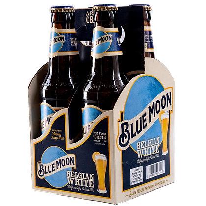 """רביעיית בקבוקי בירה בלומון X 330 4 מ""""ל"""
