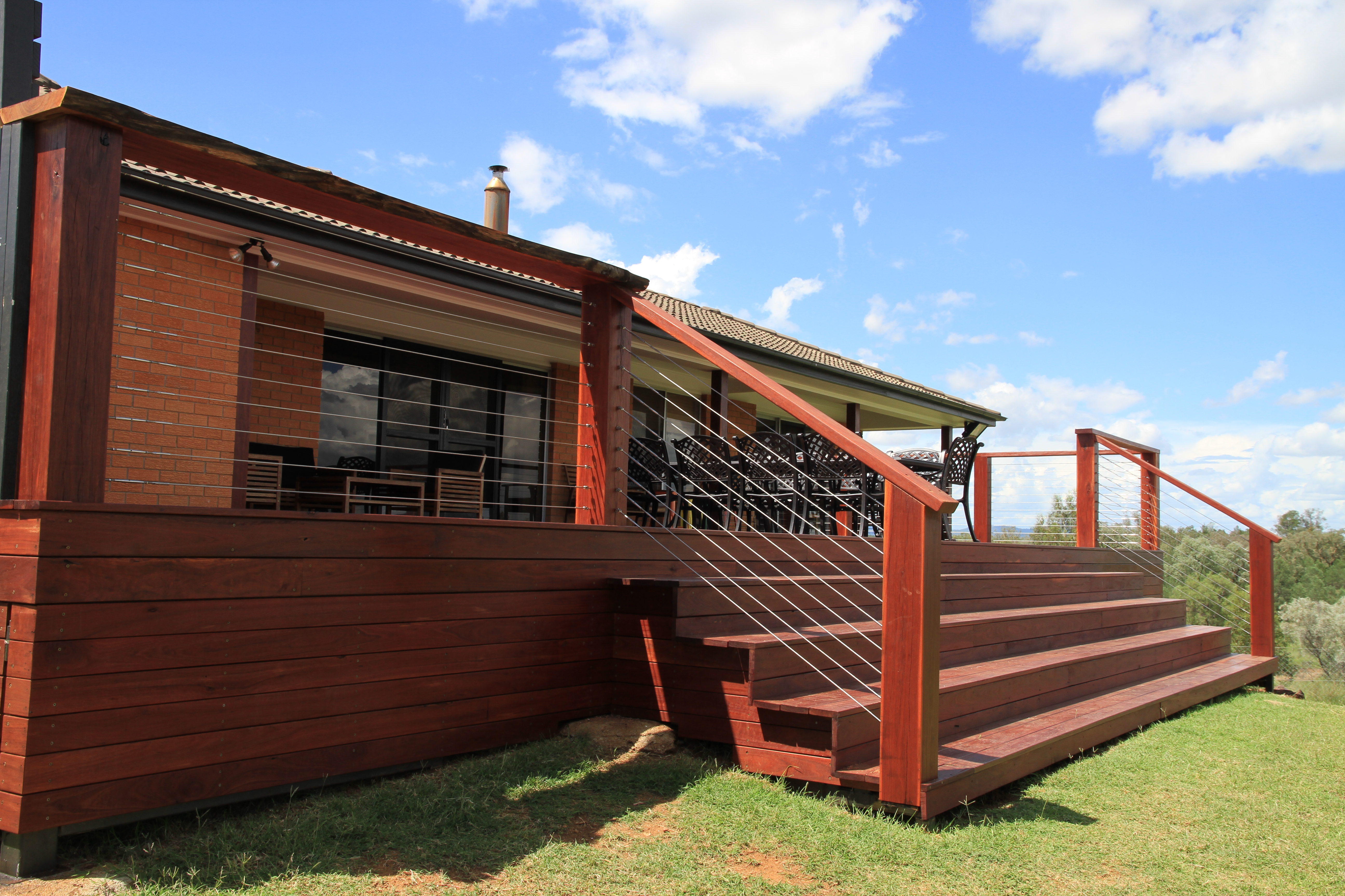 Tony Pollock Building Timber Deck