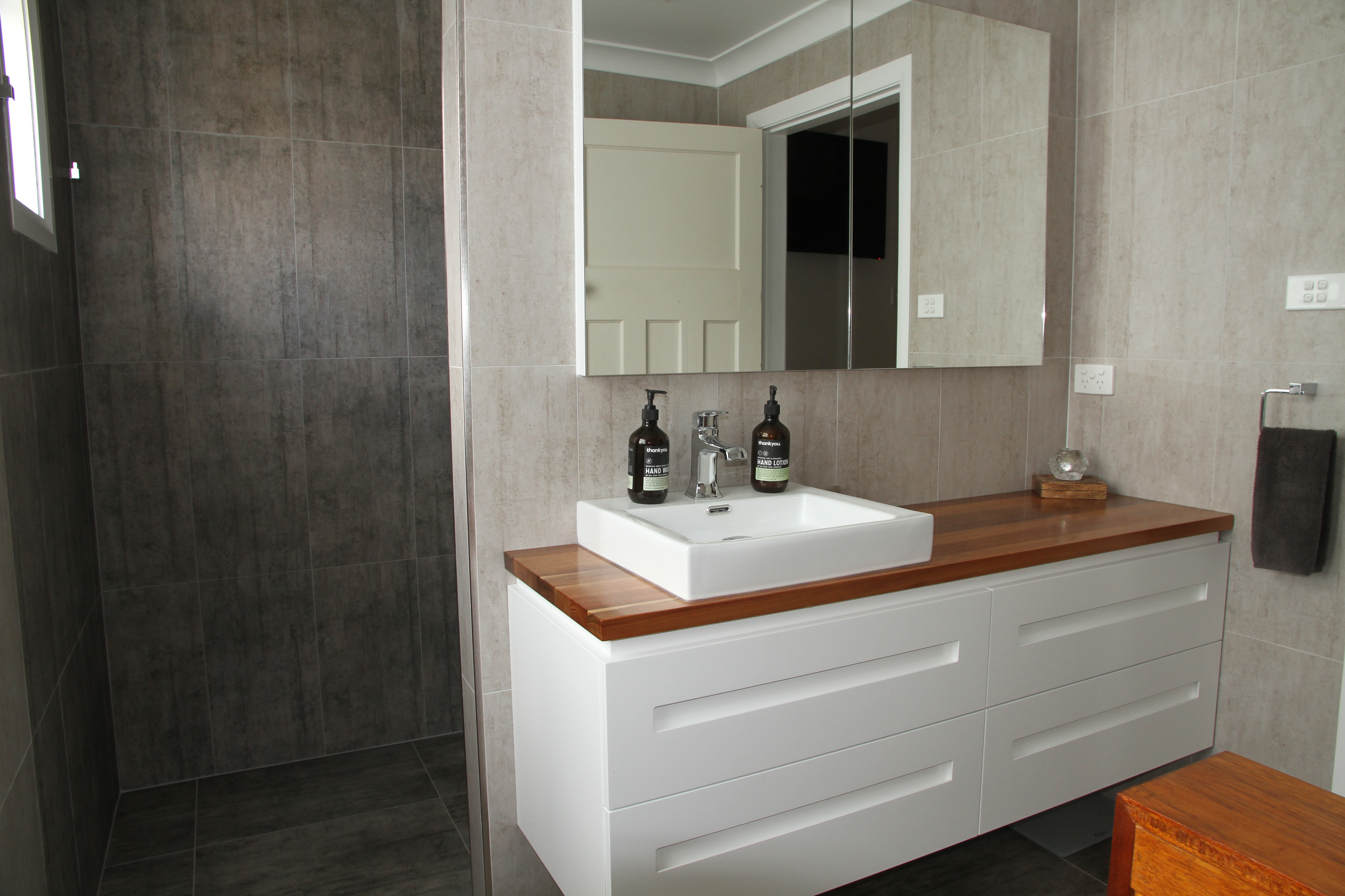 Tony Pollock Building Bathroom