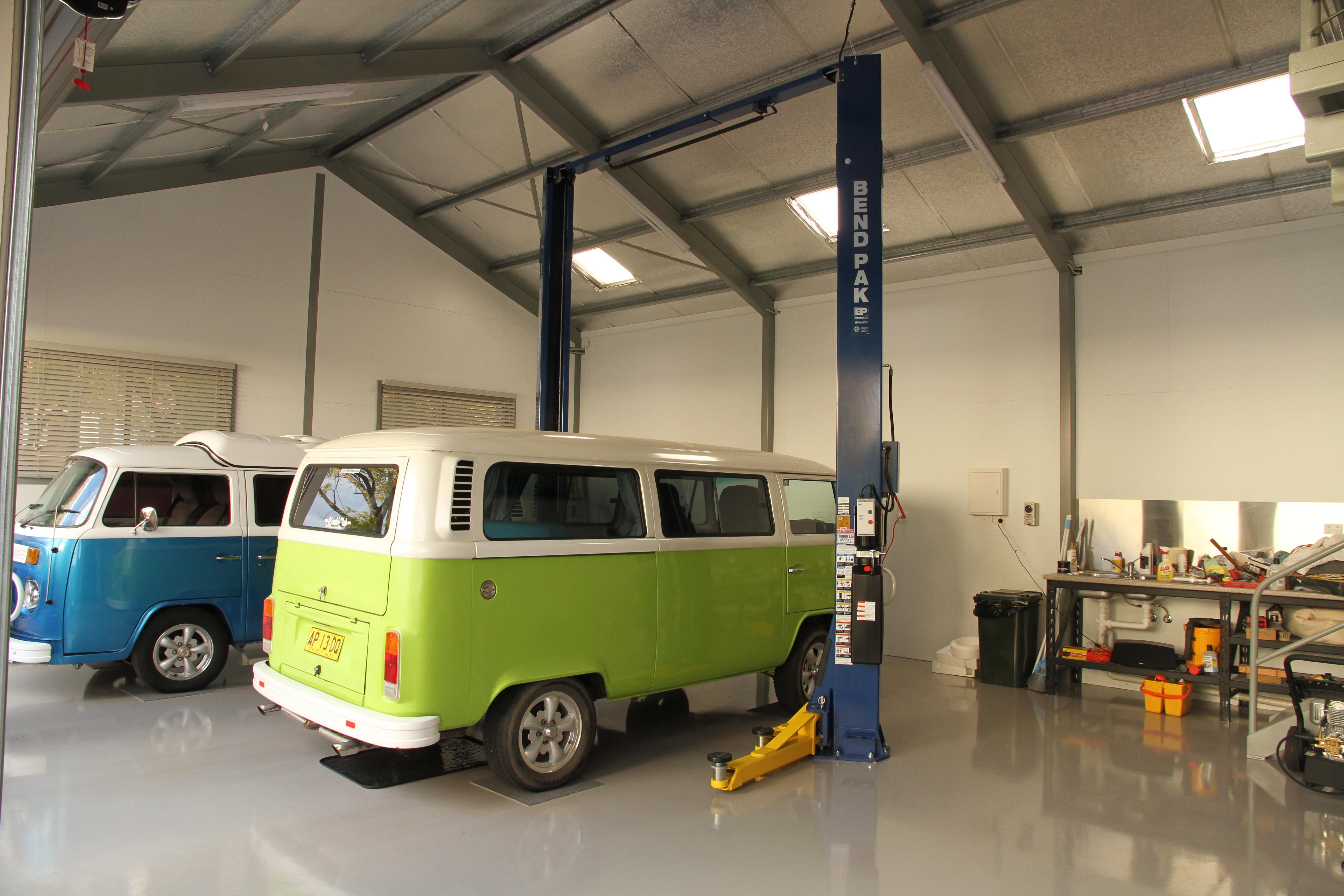 Tony Pollock Building Garage