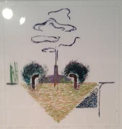 no title dry point 1987  25 x 26 cm