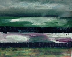 november light on oldambt 2011 oil on canvas 35 x 55 cm
