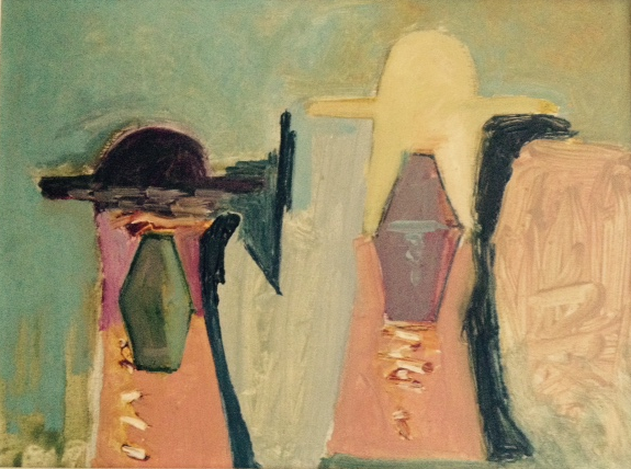 colena oil on canvas1986 25 x 35 cm