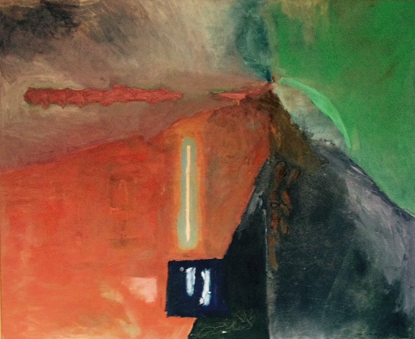 the long way to kornwerderzand1986  140 x 160 cm