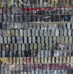tidal impression 6 2011 45 x 47 cm  oil on panel