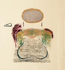 n.t. dry point 1987  25 x 26 cm