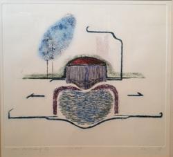 n.t..aquatint 1987 26 x 33 cm