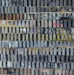 tidal impression 5 2011 oil on panel 45 x 47 cm