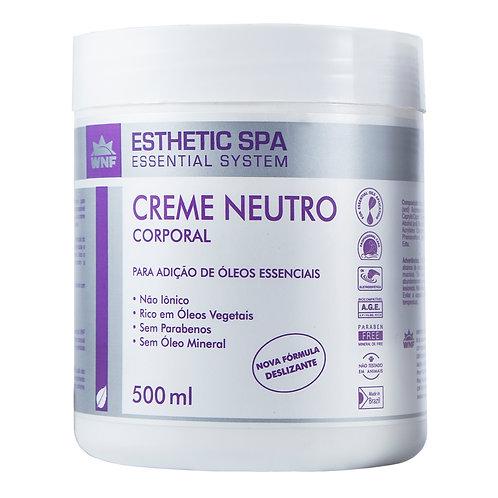 Creme Neutro Corporal Base para Massagem Esthetic Spa WNF - 500ml