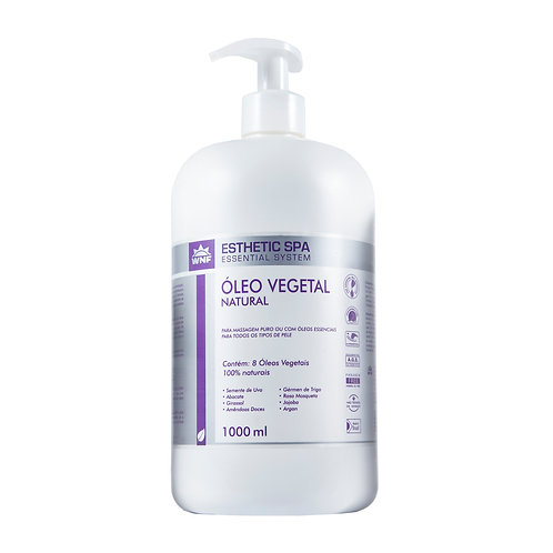 Óleo Vegetal Natural Base para massagem - Esthetic Spa WNF