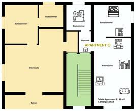 Apartment C 1.Obergeschoß