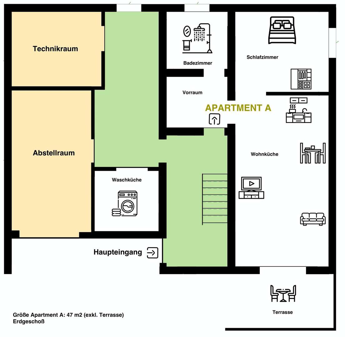 Apartment A Erdgeschoß