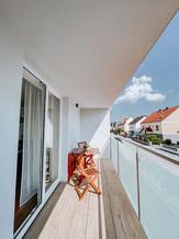 Balkon B, D
