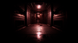 Bloodied Horror Door