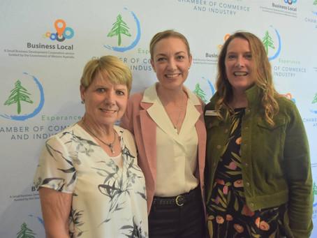 Esperance Women's Leadership Network hears of Challenges Overcome