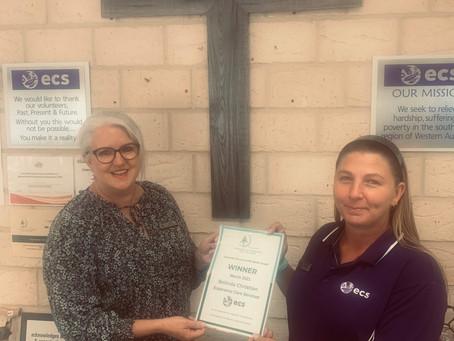 March Customer Service Award