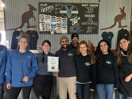 April Customer Service Award