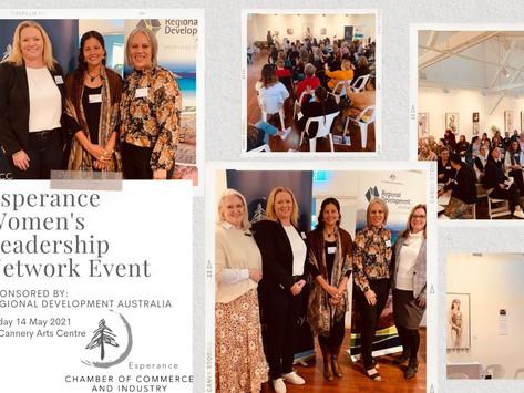 Esperance Women's Leadership Network Event
