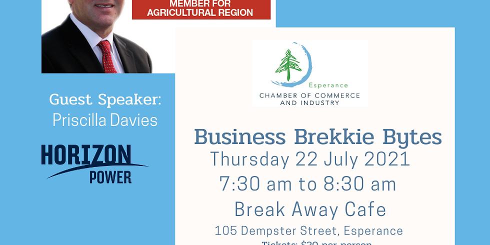 Business Brekkie Bites 22nd July