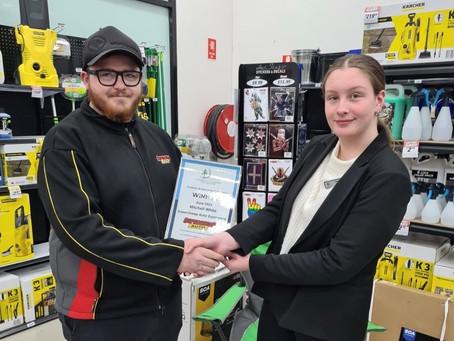 June Customer Service Award Winner